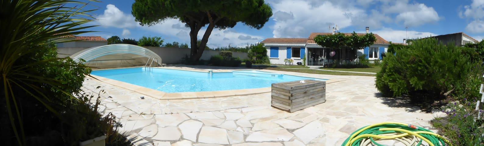 villa a 5min de la plage - La Brée-les-Bains