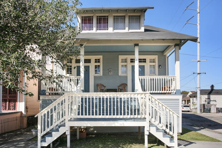 Front of the house, you get both sides with this listing