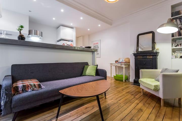 Joli Appartement à Montmartre (avec mon chat !)