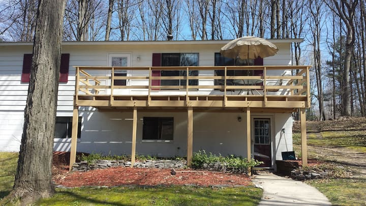 Torch Lake Getaway - Secluded, Great Location!