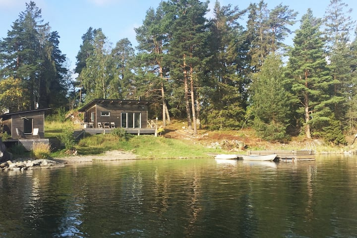 Cottage on a quiet, small, car free island
