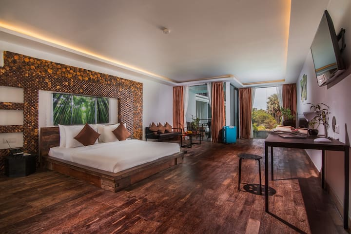 One Bedroom + Breakfast + Included 2 ways transfer - Krong Siem Reap - Hotel boutique
