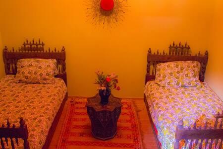 Chambre 2 lits simple - Essaouira