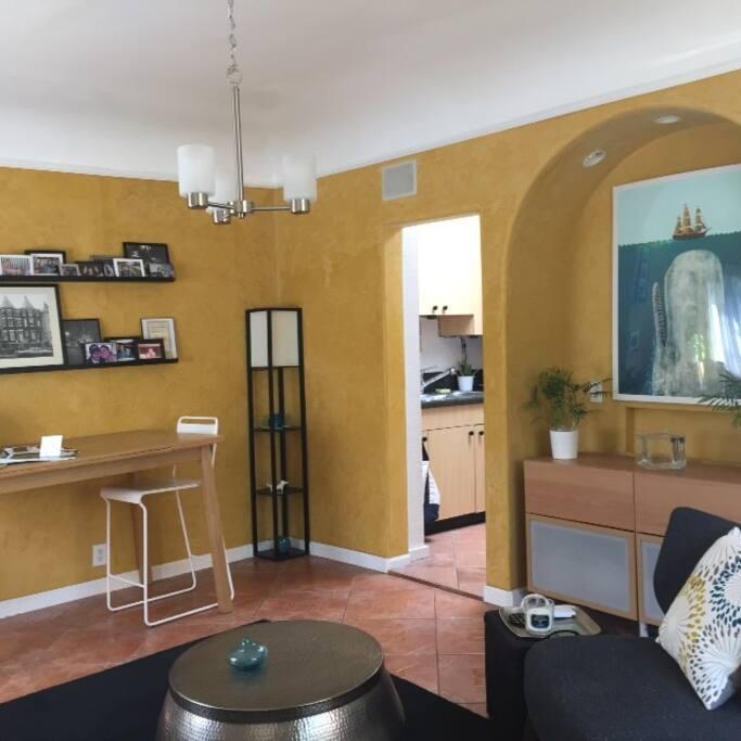 Bright Comfortable Living Area