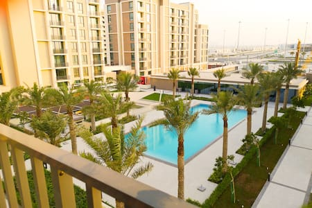 Beach Front Two-Bedroom Apartment in Al Muharraq