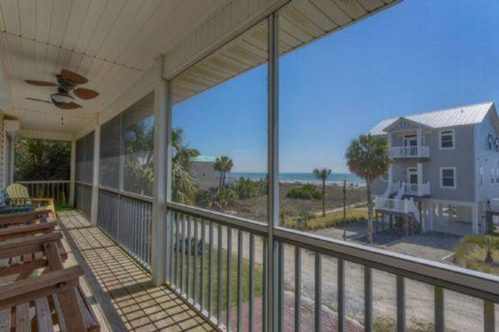 Gulfside Screen Porch