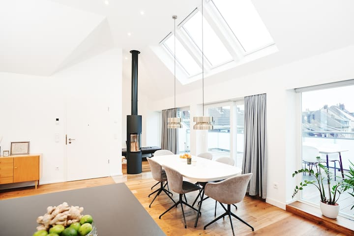Roof Top Studio Apartment - Essen Südviertel