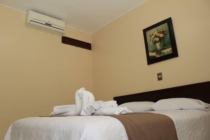 Habitación Matrimonial Privada - Hotel Monte Azul