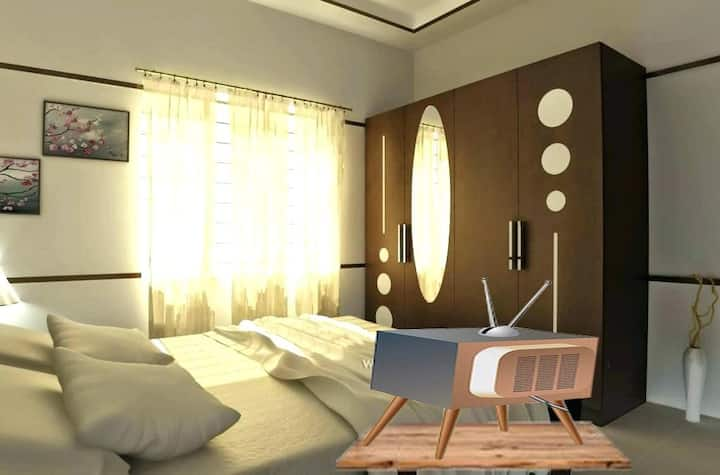 Περιστέρι Υπνοδωμάτιο σε Μονοκατοικία