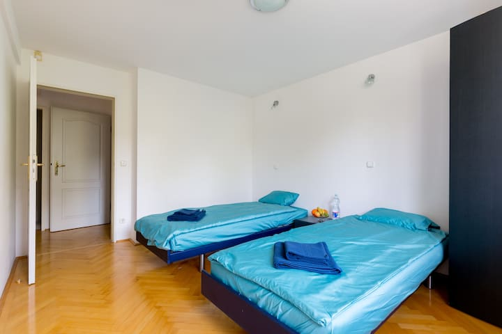 Liszt Ferenc Ter InnerCity Flat w/shared Bthrm (4)