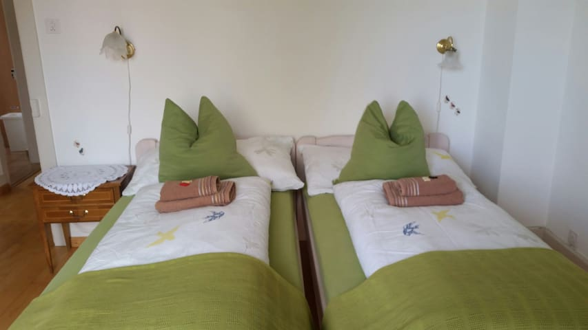 "Nice room with balcony in Guesthouse ""Sonne"" - Zuchwil - Pension"