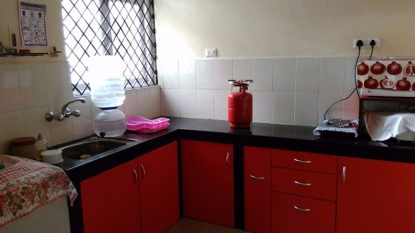 Kitchen with Gas