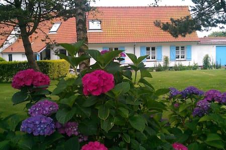 La Labigeoise  suite Côté Jardin 2 personnes - Saint-Inglevert - Penzion (B&B)
