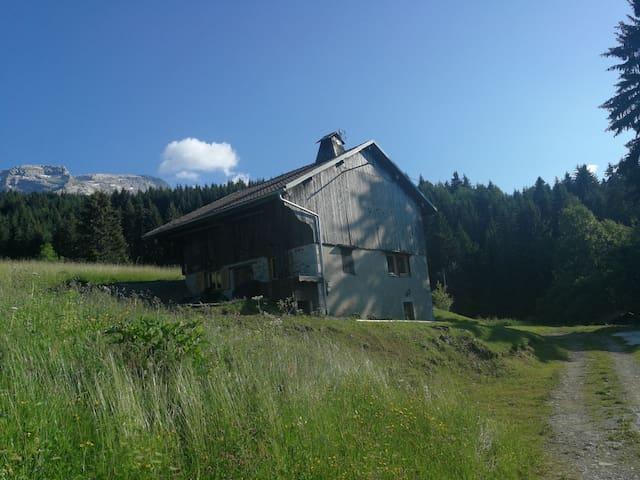 chalet d'alpage Mont-Saxonnex