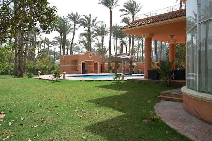 Laila's Villa in Garana near 6th of October