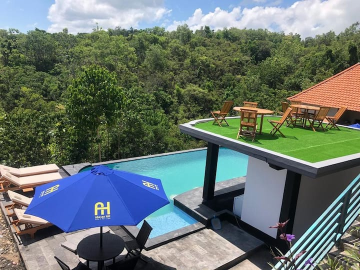 Nusa Penida Hill 12 Adult ABasan Pool Breakfast