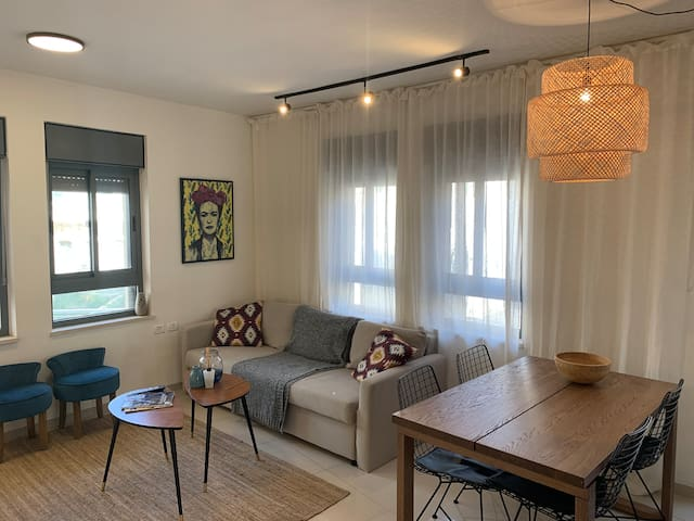 The new and impressive city center appartement