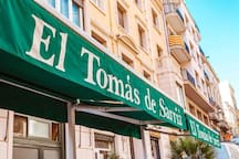 Bar Tomàs Sarrià Best braves Potatoes  of Barcelona Carre Major de Sarrià