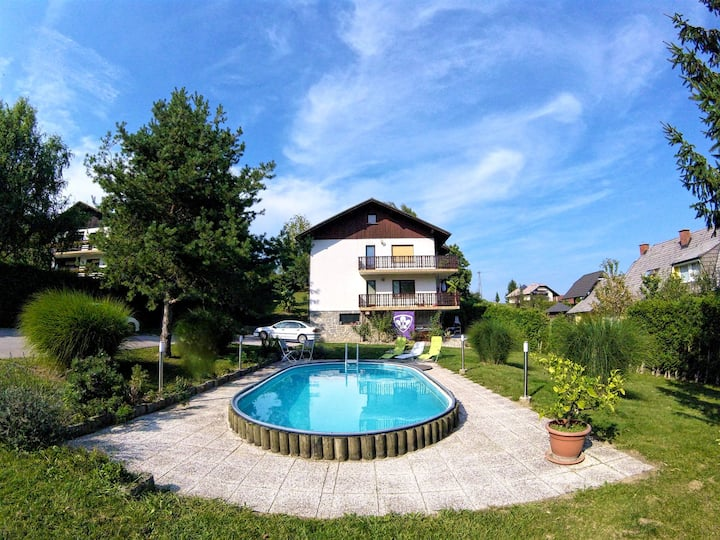 Green Luxury Apartment near Maribor (Pool+Parking)