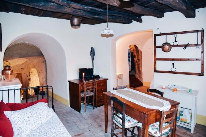 La casa nella grotta - Sorano - Apartmen