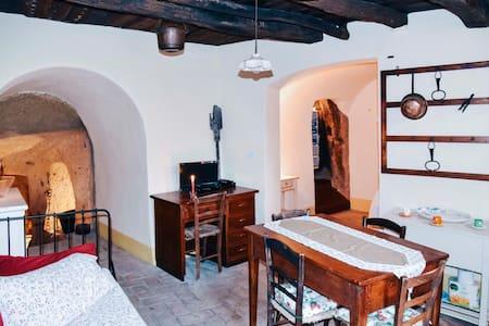 La casa nella grotta - Sorano - Apartamento