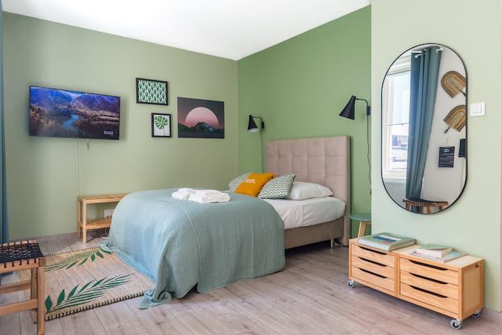 Le GreenBay - Studio équipé Centre-Ville Mulhouse
