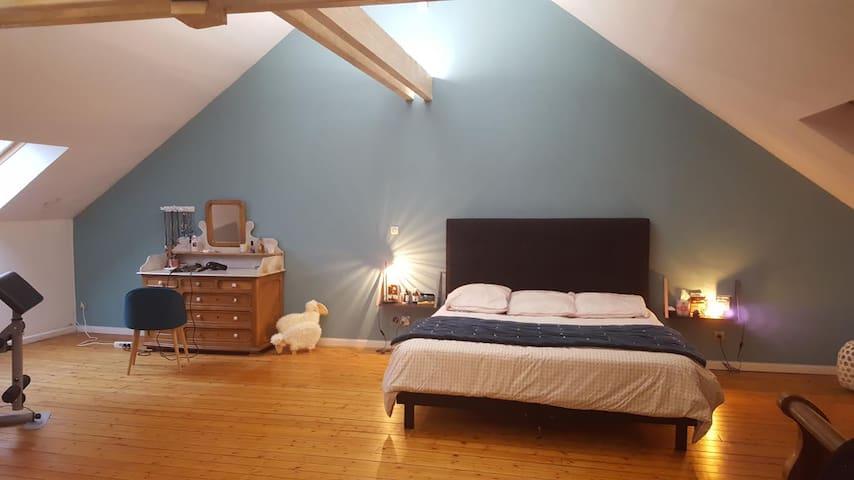 C'est une maison bleue... - Verzy - Rumah