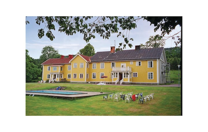 Beautiful home in Gräsmark with Sauna and 18 Bedrooms