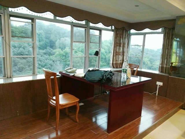 JiShan 2 beds room ,Good landscape ,TianHe - กวางโจว - วิลล่า