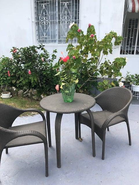 Peaceful home, serene view, w/ Jamaican breakfast