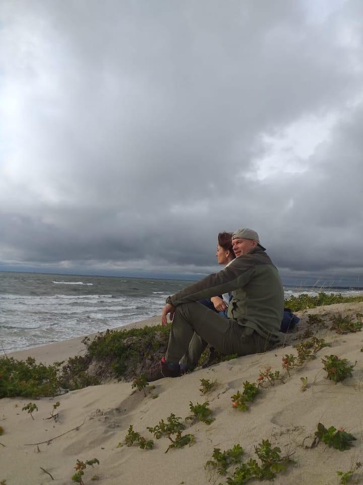 Отдых и уединение на побережье Балтики