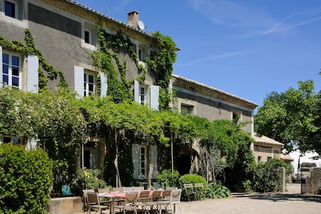 Luxury bastide in a wine domain 9 bedrooms 20 pers - Violès - Huis