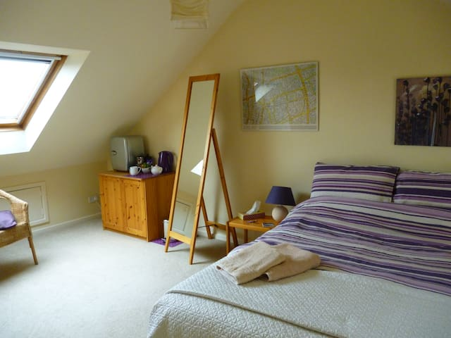 Sunny loft & private shower room - Newcastle upon Tyne - Dům