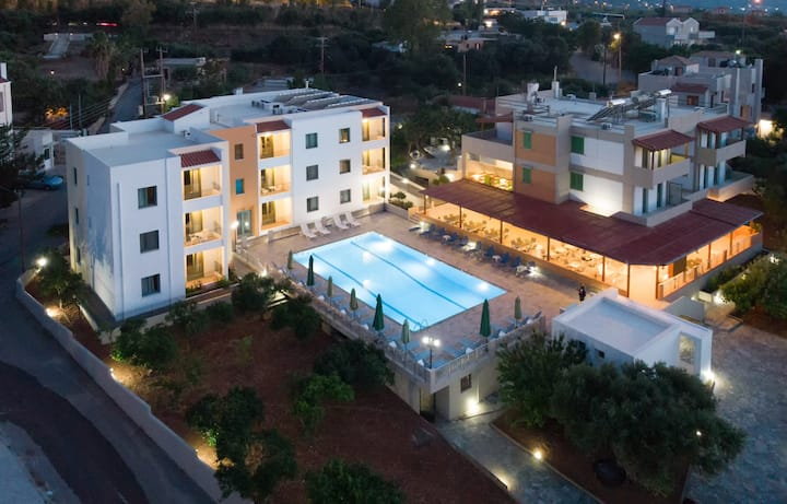 Hersonissos Crete -Traditional Apartment  Sea View
