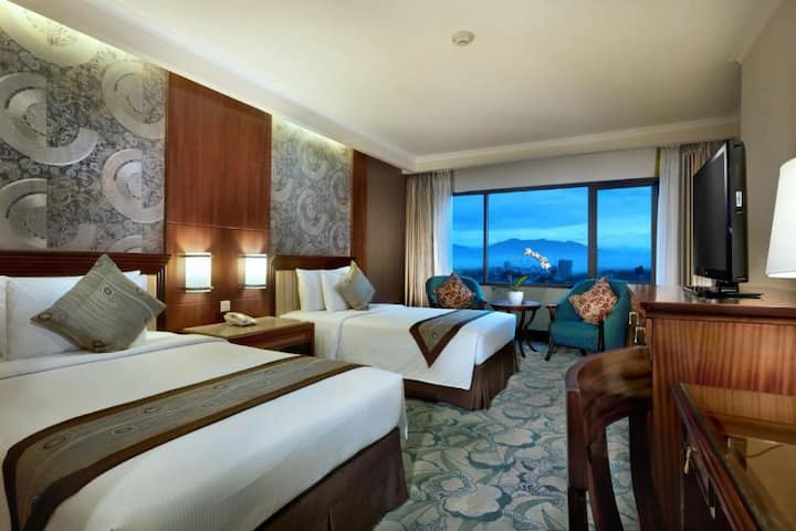 Cozy Double Or Twin Deluxe At Bandung