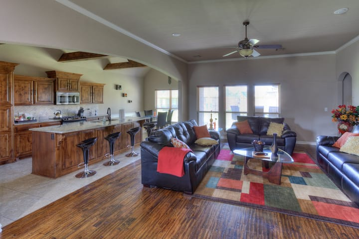Spacious Broken Arrow Home with Game Room