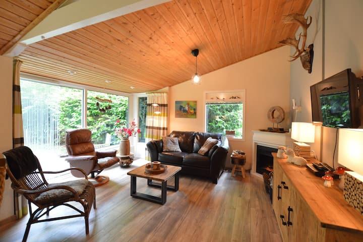 Charmante maison de vacances avec jardin à Drenthe