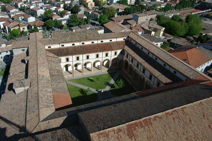 4 posti in letti a castello in antico convento