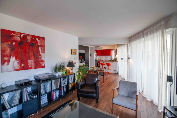 80 m2 apartment with every comfort