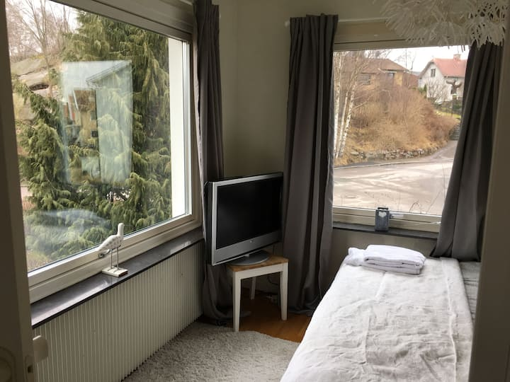 Light and fresh room close to centrum!