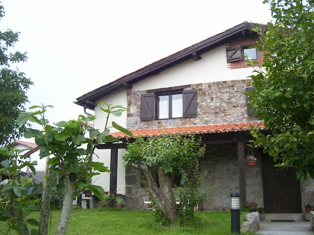 Casa Rural Altuena,Bilbao,Vizcaya,San Sebastian - Amoroto - Rumah