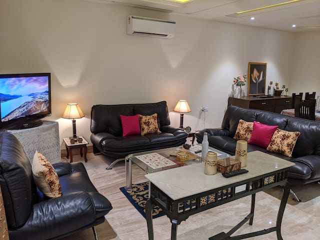 Home in the heart of Delhi with a relaxing terrace