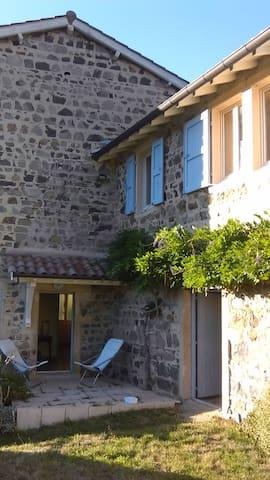 maison de campagne en beaujolais vert - Saint-Didier-sur-Beaujeu - House