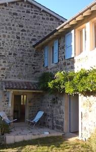 maison de campagne en beaujolais vert - Saint-Didier-sur-Beaujeu - Casa