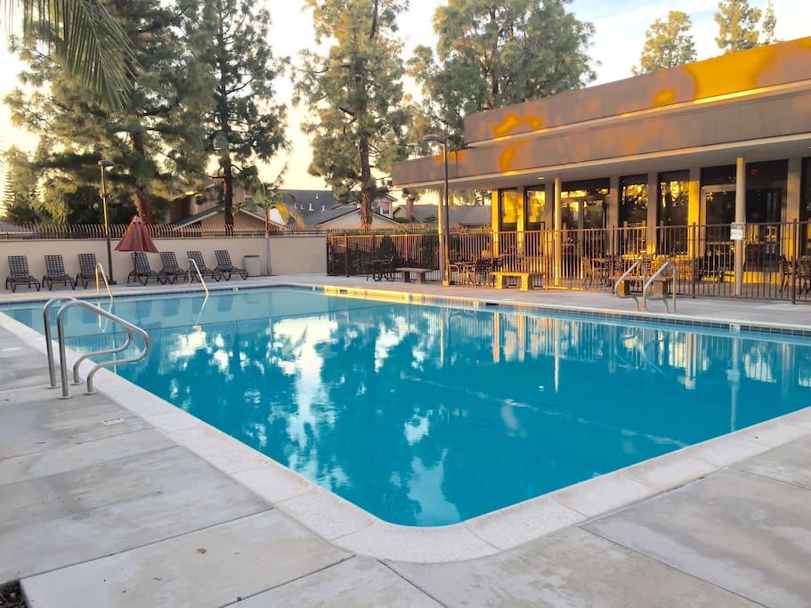 Heated all year round - Your fantastic pool area