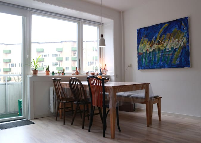 Room in calm and central flat (Amager)