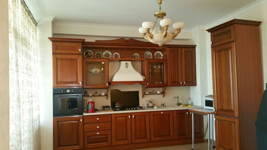Spacious 1BR apartment in Baku