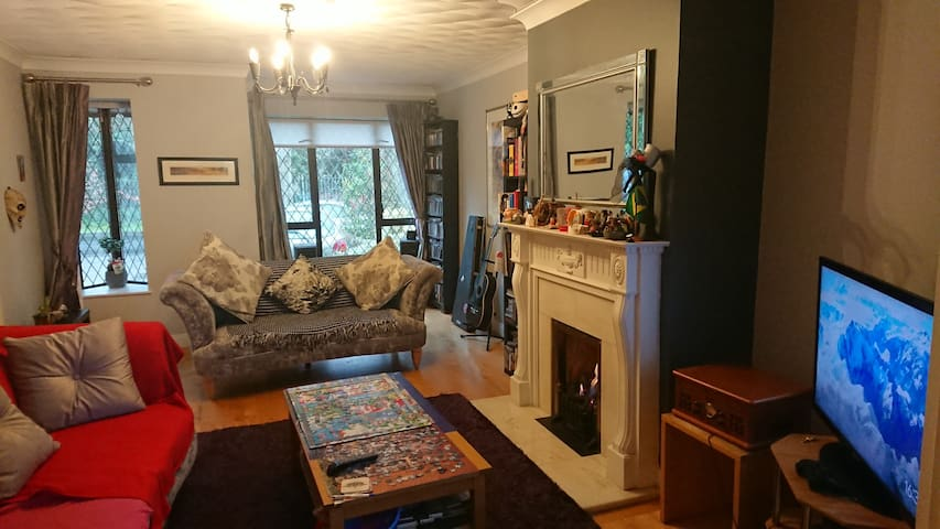 Cosy single room in a quiet residential area