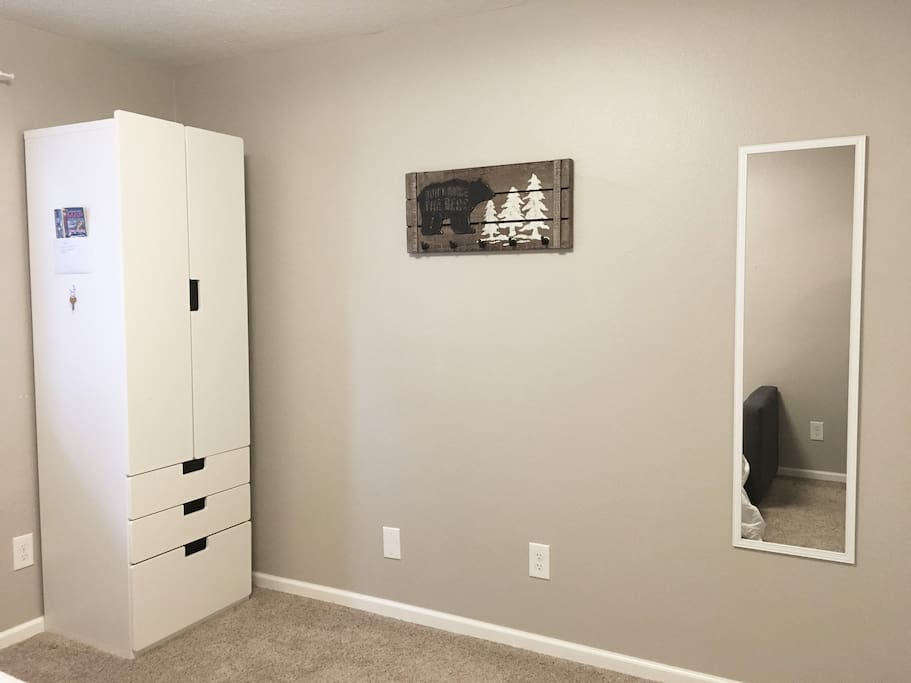 Queen Size Sofa Bed and Storage Space