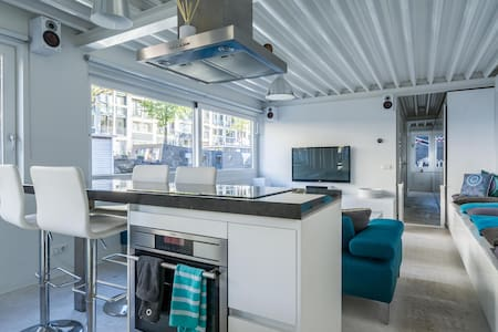 Magnificent HOUSEBOAT in A'dam City Center! - Amsterdam